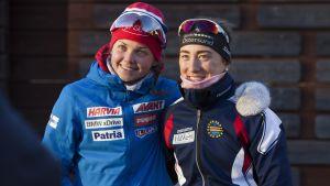 Heidi Kuuttinen och Jenny Fellman.