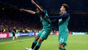 Lucas Moura var segerarkitekt mot Ajax.