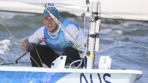Tom Burton vann OS-guld i Rio.