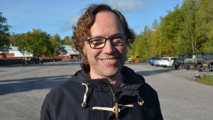 Daniel Falck, stadsträdgårdsmästare i Pargas
