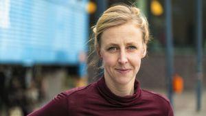 Anna Elofsson, forskare inom resande och klimat, Chalmers tekniska högskola.