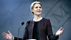 Avgående statsminister Helle Thorning-Schmidt