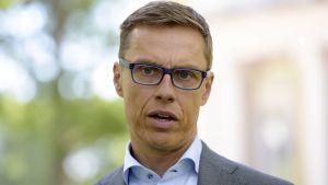 Finansminister Alexander Stubb