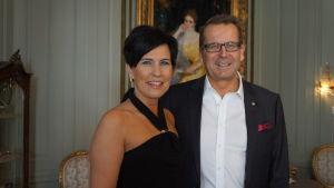 Jarmo och Irma Viinanen, Finlands ambassadörspar i Stockholm