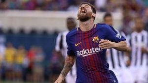 Lionel Messi är föremål för transferspekulationer.
