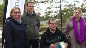 Kristina Stenman, UPM och ordförande för funktionshindrade.....