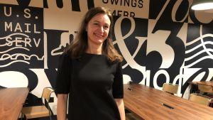 Milla Nevanlinna partner och direktör på Fingertip-bolaget.