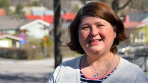 Porträttbild på Tuula Silvola.