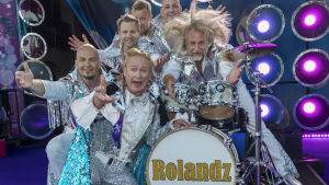 Bild av bandet Rolandz