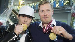 Peter Kotilainen och Mika Kohonen.