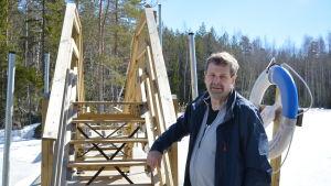 Bengt Leander på Iskmo-Jungsundleden.