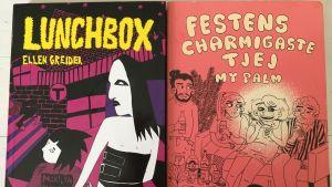 Bild på omslagen till Lunchbox och Festens charmigaste tjej.