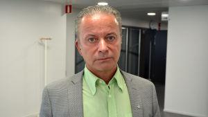 Anders Östergård, direktör med ansvarsområdet för trafik och infrastruktur vid NTM-centralen i södra Österbotten.