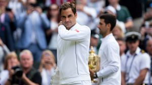 Roger Federer hade blivit historisk om han vunnit sin 21:a Grand Slam-titel i 37 års ålder.