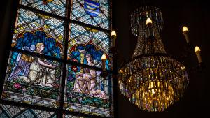 Detaljer från Lovisa kyrka.