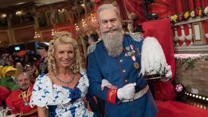 Markus Söder, här utklädd till prinsregent Luitpold av Bayern i samband med karnevalsfirandet 2018
