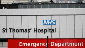 St Thomas' sjukhus i London