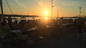 Vaasa Festival yleisöä