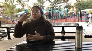 Jasmin i Newark tänker inte rösta i det amerikanska presidentvalet 2020.