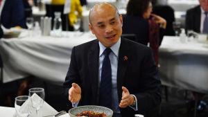 Biträdande chef för den kinesiska ambassaden i Australien Wang Xining