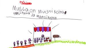 Pikku Kakkosen posti: Mainos