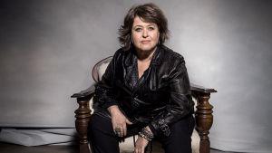 Författaren Sabine Forsblom