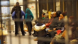 Asylsökande kommer över östgränsen till Salla
