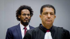 Mohammad al-Mahdi i ICC åtalad för rivandet av kulturarv i Timbuktu.