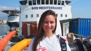 Seraina Eldado från MSF.