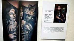 Da Vincis Damen med hermelinen som tatuering