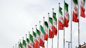 Iranska flaggor
