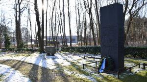 Jägarnas minnesmärke från 1939 i Hohenlockstedt