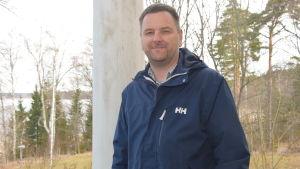 Raseborgs stads mätningschef Roger Nyberg.