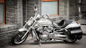 En Harley-Davidson motorcykel