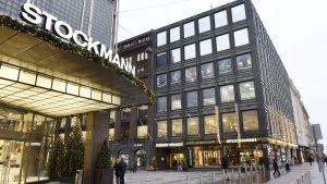 Stockmann och Bokhuset i Helsingfors.