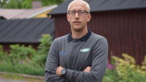 Porträttbild på Oscar Forsström