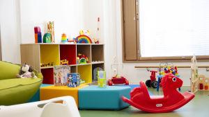 lekrum åt barn på sjukhus
