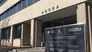Agorabyggnadens öppning
