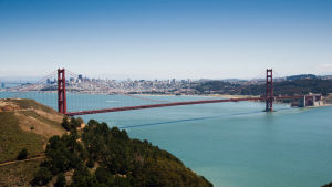 Golden Gate i San Fransisco.
