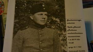 Kalle Multanen, soldat som försvann under vinterkriget 1940