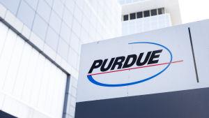 Purdue Pharmas huvudkontor i Stamford Connecticut.