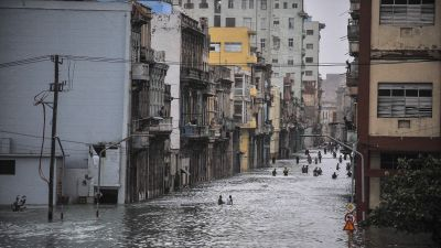 Stor forodelse efter tyfon i kina