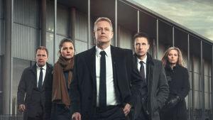Det politiska spelet med statsminister Michael Woll i spetsen är en stor del av andra säsongen av Mammon.