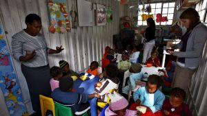 En skola i Sydafrika