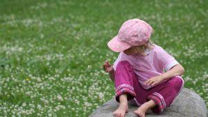 Ett ensamt barn