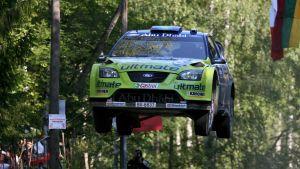 Mikko Hirvonen, rallyförare