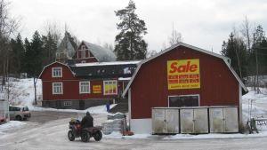 En liten butik i Ingå skärgård