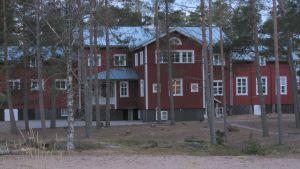 Pörkenäs lägergård i Jakobstad, tidigare sanatorium