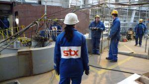 STX varvsjobbare i Åbo