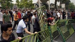 studentdemonstration i Teheran